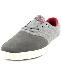 Emerica - The Reynolds Cruiser Lt Women Round Toe Canvas Red Sneakers - Lyst