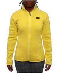 Patagonia - Women Women's Better Jumper Jacket Fleece Pineapple - Lyst