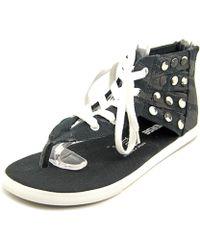 Converse - Chuck Taylor Gladiator Hi Open Toe Canvas Gladiator Sandal - Lyst