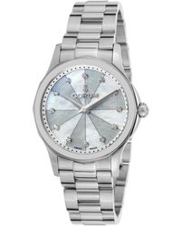 Corum - Women's Diamond Admiral's Cup Legend Stainless Steel White Mop Dial - Lyst