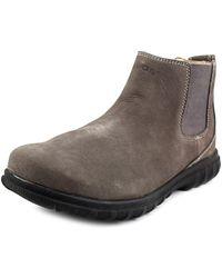 Bogs - Eugene Round Toe Leather Boot - Lyst