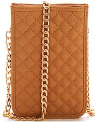 Bungalow 20 - Fiona Quilted Cell Phone Crossbody - Lyst