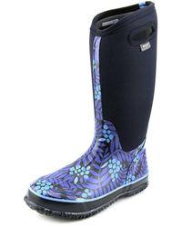 Bogs - Winterberry High Women Round Toe Canvas Rain Boot - Lyst