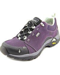 Ahnu - Montara Ii Round Toe Leather Hiking Shoe - Lyst