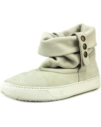 BB Washed by Bruno Bordese - W1005 Round Toe Leather Trainers - Lyst