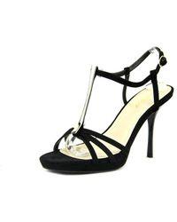 Bamboo - Vertigo-05 Women Open-toe Synthetic Heels - Lyst