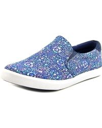 Gola - Delta Round Toe Canvas Loafer - Lyst