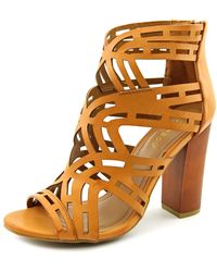Bamboo - Embark-15s Open Toe Synthetic Sandals - Lyst