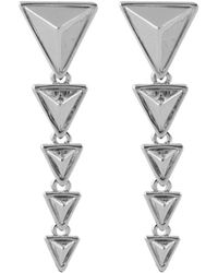 House of Harlow 1960 - 1960 Plated Drop Earrings - Lyst