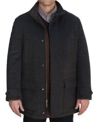 Robert Talbott - Shasta Car Coat - Lyst