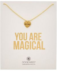 Dogeared - 14k Over Silver You Are Magical Unicorn Necklace - Lyst