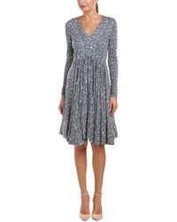 Rebecca Taylor - Lavish Grid Wool-blend A-line Dress - Lyst