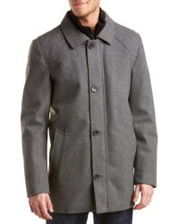 Vince Camuto - Melton Wool-blend Car Coat - Lyst