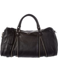 Zadig & Voltaire - Sunny Leather Bowler Bag - Lyst