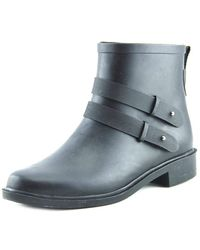 Chooka - Midtown Strappy Round Toe Synthetic Rain Boot - Lyst