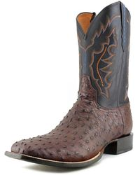 Lucchese - Vamp 2e Square Toe Leather Western Boot - Lyst