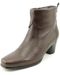 David Tate - Hilda Women W Square Toe Leather Boot - Lyst