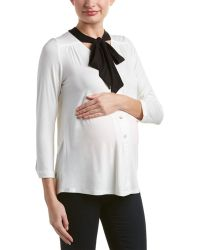Everly Grey - Maternity Kitty Top - Lyst