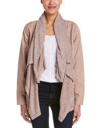 Esley - Collection Draped Shawl Jacket - Lyst