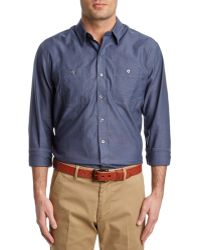 Cutter & Buck - Oxford Blakely Woven Shirt - Lyst