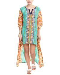 Tolani - Mandira Silk Caftan - Lyst