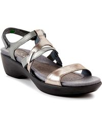Naot - Cabernet Leather Ankle Strap Sandal - Lyst