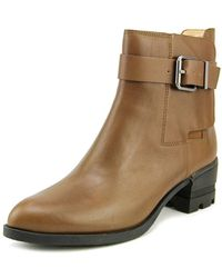 Carolinna Espinosa - Conner Round Toe Leather Ankle Boot - Lyst