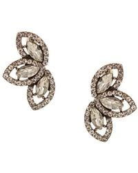 Sparkling Sage - Stone Trio Earrings - Compare At $78 - Lyst