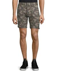 Slate & Stone - Camouflage-print French Terry Short - Lyst