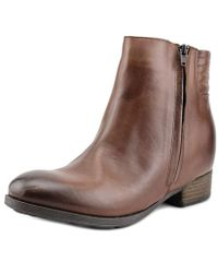 Accademia - Vit.city Pointed Toe Leather Bootie - Lyst
