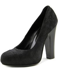 Paul & Joe - Delisse Women Round Toe Leather Black Heels - Lyst