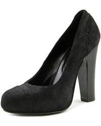 Paul & Joe - Delisse Women Round Toe Leather Black Heels - Lyst