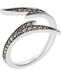 Jan Leslie - Seagrass Wrap Ring: The Stardust Pavé Jewelry Collection - Lyst