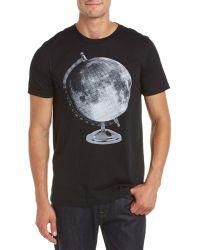 Arka - Moon Globe T-shirt - Lyst
