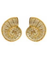 Fornash - Ocean 14k Plated Shell Earrings - Lyst