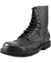 DIESEL | Steel Steel Toe Leather Work Boot | Lyst