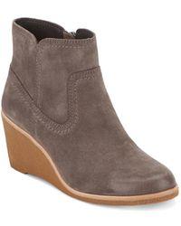 G.H. Bass & Co. - . Womens Rosanne Dress Wedge Heel Boot - Lyst