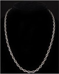 Scott Kay - Anchor Silver Necklace - Lyst