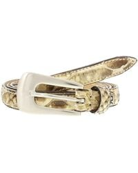 Renato Balestra - Sonora Python Leather Womens Belt - Lyst