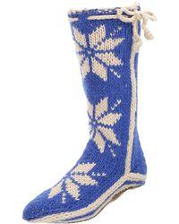 Woolrich - Women's Chalet Sock Slipper, Birch, Size 9.0 - Lyst