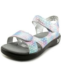 Alegria - Joy Women Open-toe Leather Multi Colour Slingback Sandal - Lyst