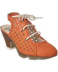 Fly London - Ozie Leather Summer Bootie - Lyst