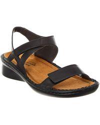 Naot - Harp Leather Sandal - Lyst