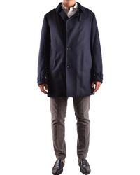 Allegri - Men's Blue Wool Coat - Lyst