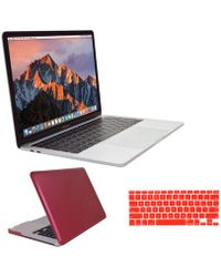 Apple - Macbook Pro 13-inch Retina Display & Touch Bar 512gb With Red Clip Case - Lyst