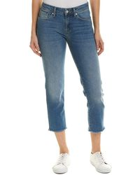 Mavi - Jeans Niki Shaded Straight Crop - Lyst