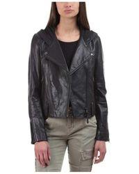 Mackage - Women's Keegan Moto Leather Jacket - Lyst