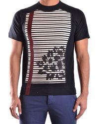 Antonio Marras   Men's Mcbi023001o Black Cotton T-shirt   Lyst