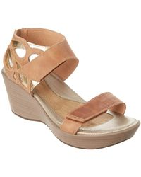 Naot - Intrigue Leather Sandal - Lyst