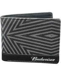 Buxton - Men's Budweiser Slimfold Wallet With Bottle Opener - Lyst